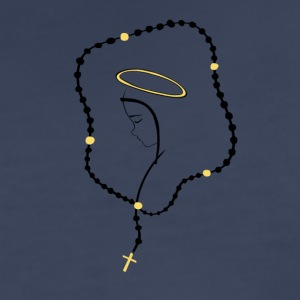 Rosary Mary - Women's Premium T-Shirt