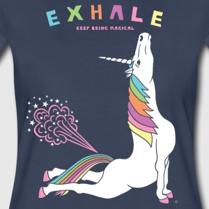 Cobra Pose Unicorn Exhale - Women's Premium T-Shirt