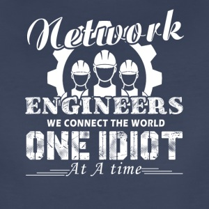 Network Engineer We Connect The World Shirt - Women's Premium T-Shirt