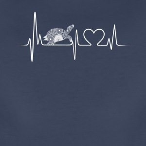 turtle heartbeat shirt - Women's Premium T-Shirt