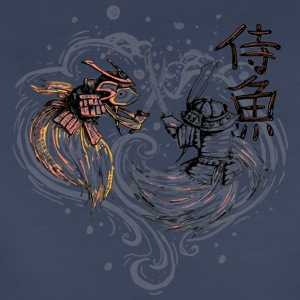 Japanese Fighting Fish Remix - Women's Premium T-Shirt