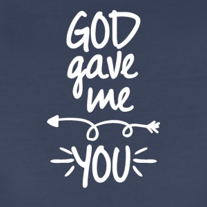 God gave me you (left arrow) - Women's Premium T-Shirt