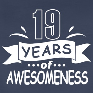 19 years of awesomeness - Women's Premium T-Shirt
