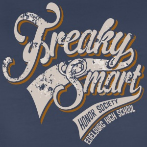 Freaky Smart Honor Society EDELBURG HIGH SCHOOL - Women's Premium T-Shirt