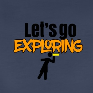Let's go exploring - Women's Premium T-Shirt