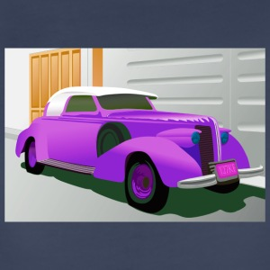 PURPLE BUICK 1938 SPECIAL CONVERTIBLE - Women's Premium T-Shirt