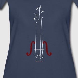 Violin Design - Women's Premium T-Shirt