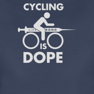 Man Cycling Is Dope Cyber System - Women's Premium T-Shirt