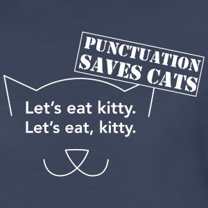 Let's Eat Kitty. Punctuation Saves Cats