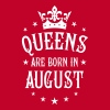 20 Queens are born in August Crown Woman  - Women's Premium T-Shirt