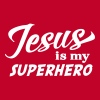 Jesus is my superhero - Women's Premium T-Shirt