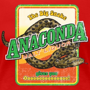 Anaconda Malt Liquor - Women's Premium T-Shirt