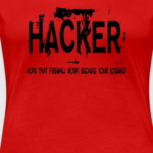 Hacker - Women's Premium T-Shirt