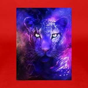 glowing leopard - Women's Premium T-Shirt