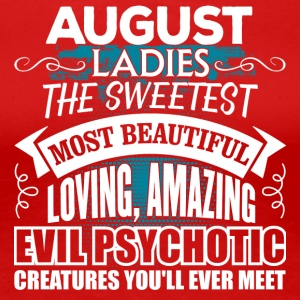 AUGUST Ladies - Women's Premium T-Shirt