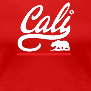 CALI BEAR - Women's Premium T-Shirt