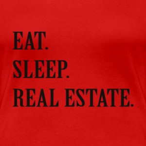 Real Estate Agent Life T's - Women's Premium T-Shirt