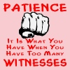 Patience Is What You Have When You Have Witnesses - Women's Premium T-Shirt