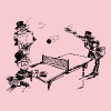 Ping Pong Suits - Women's Premium T-Shirt