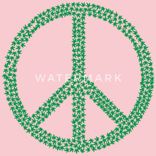 Marijuana Peace Sign By Martmel Us Spreadshirt