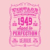 Vintage 1949 Aged to Perfection 67th Birthday - Women's Premium T-Shirt