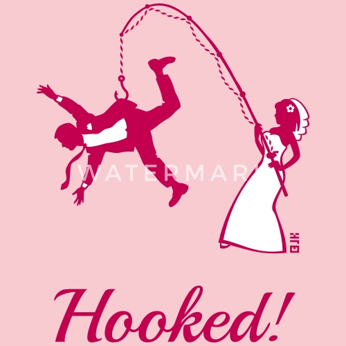 Bride Fishing Groom Stag Party By Herrfaulbaum Spreadshirt
