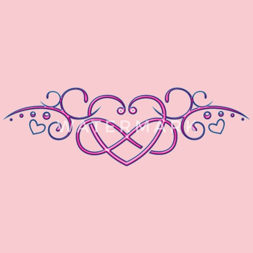 Heart With Infinity Symbol Pink By Christine Krahl Spreadshirt