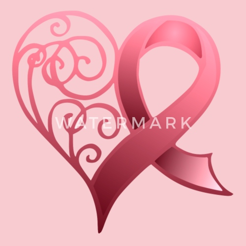 Breast Cancer Ribbon By Alondra Spreadshirt