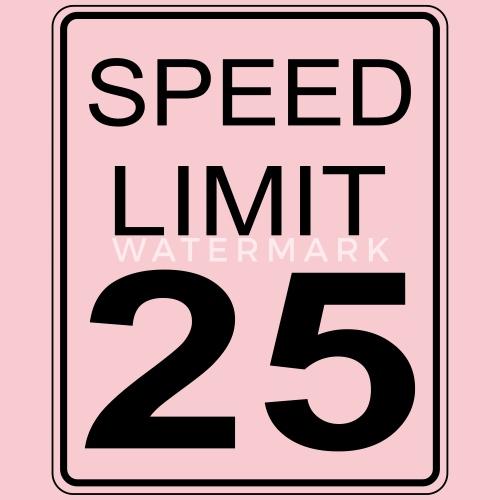 25mph Speed Limit Women's Premium T-Shirt