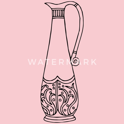 Vase 51 Line Drawing By Martmel Us Spreadshirt