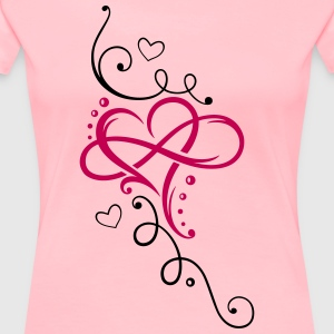 Heart and infinity - Women's Premium T-Shirt