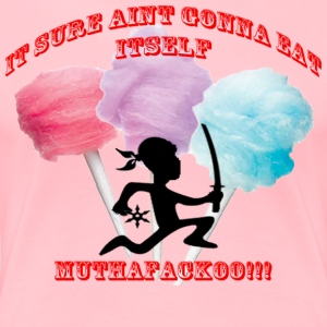 Cotton Candy Muthafackoo - Women's Premium T-Shirt