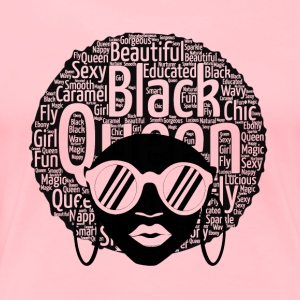 Black Girl Tee - Women's Premium T-Shirt