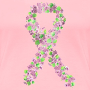 Breast Cancer Floral Ribbon