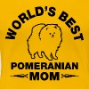 pomeranian mom - Women's Premium T-Shirt