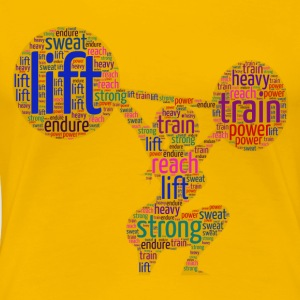 female lifting - Women's Premium T-Shirt