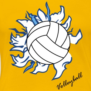 Volley ball - Women's Premium T-Shirt