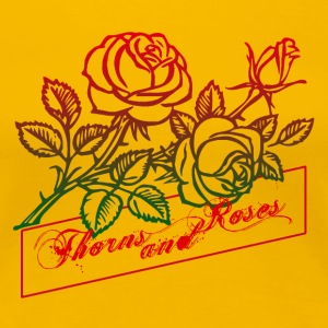 Thorns and Roses - Women's Premium T-Shirt