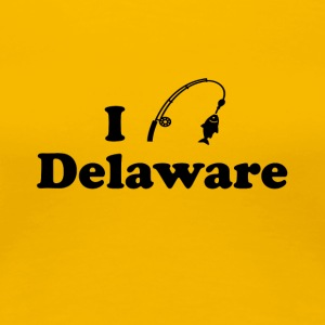 delaware fishing - Women's Premium T-Shirt