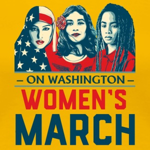 Women's March 2017t shirt - Women's Premium T-Shirt