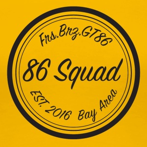 86 Squad Badge - Women's Premium T-Shirt