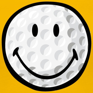 SmileyWorld Smiling Golf Ball - Women's Premium T-Shirt