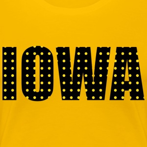 IOWA - Women's Premium T-Shirt