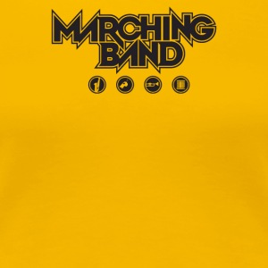 Marching Band - Women's Premium T-Shirt