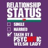 Psychotic Welsh Lady - Women's Premium T-Shirt