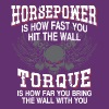 Horpower Vs. Torque Definition - Women's Premium T-Shirt