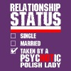 Psychotic Polish Lady - Women's Premium T-Shirt