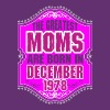 The Greatest Moms Are Born In December 1978 - Women's Premium T-Shirt