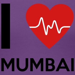 I Love Mumbai - Women's Premium T-Shirt