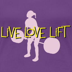 Live Love Lift - weight lifting